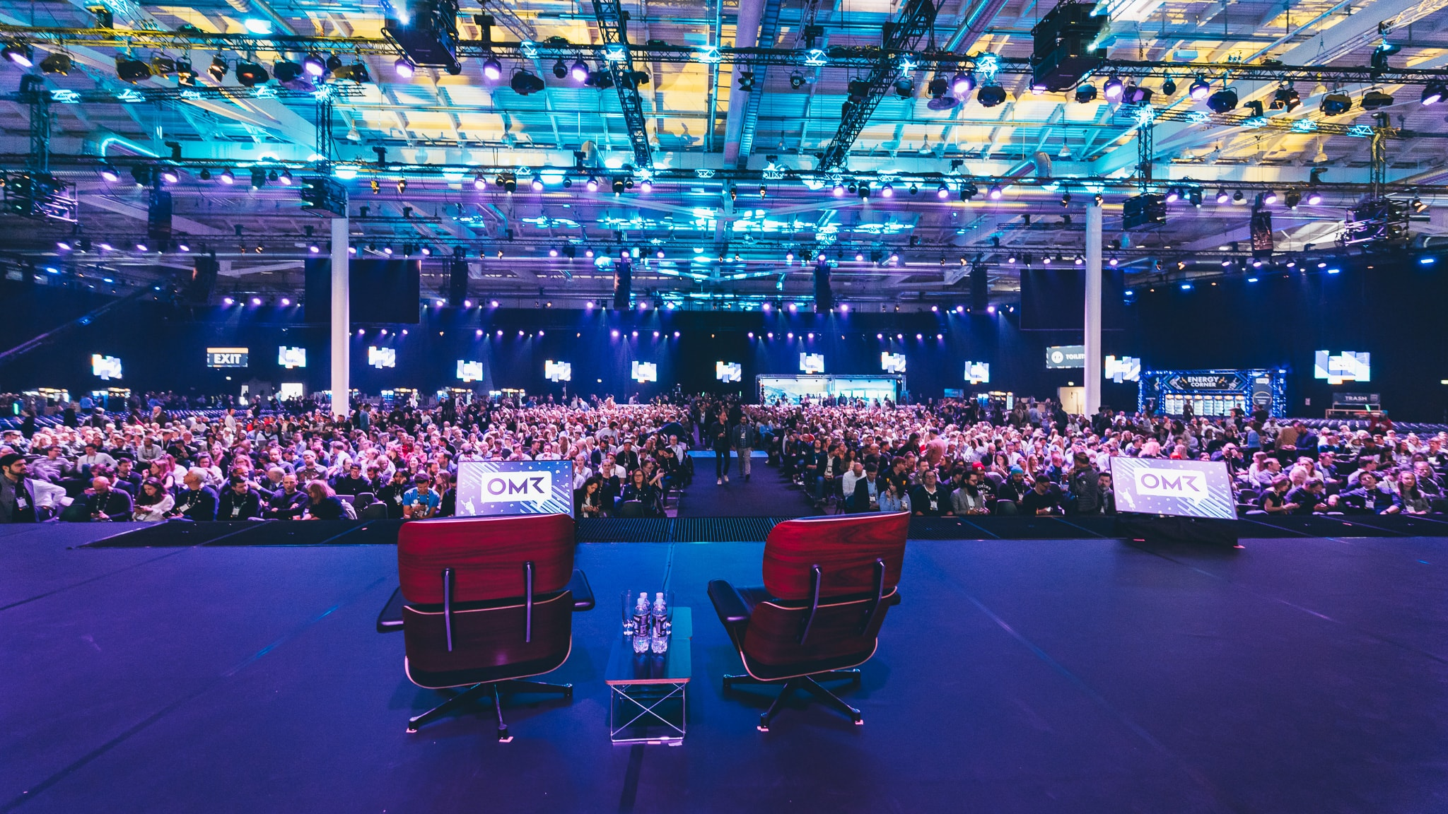 Conference Stage @ OMR19